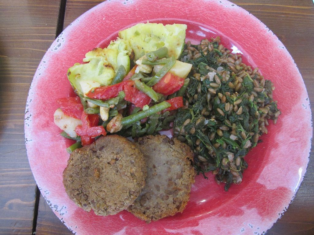 """Photo of Semino  by <a href=""""/members/profile/thenaturalfusions"""">thenaturalfusions</a> <br/>lunch- 8 euros *all vegan Semino, Cagliari <br/> September 19, 2015  - <a href='/contact/abuse/image/63553/118342'>Report</a>"""