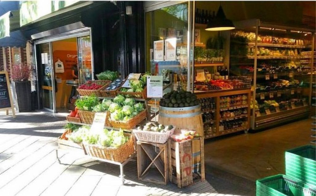 """Photo of Ekoplaza - Lusthofstraat  by <a href=""""/members/profile/community"""">community</a> <br/>Outside Organic Food For You <br/> September 27, 2015  - <a href='/contact/abuse/image/63567/119421'>Report</a>"""