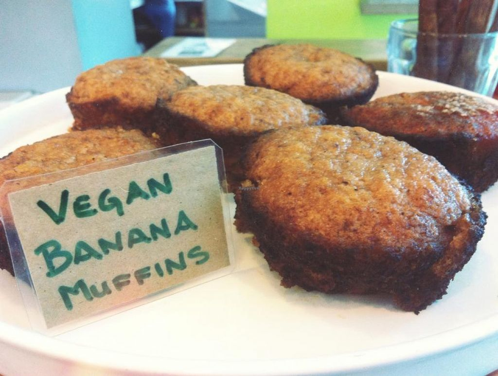 "Photo of Fresh Fresh Cafe  by <a href=""/members/profile/community"">community</a> <br/>Vegan Banana Muffins <br/> October 3, 2015  - <a href='/contact/abuse/image/63570/119927'>Report</a>"