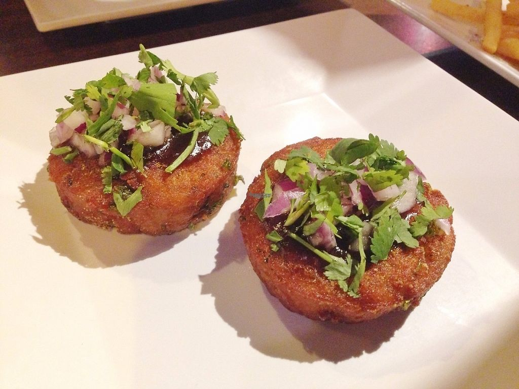 """Photo of Spice Lounge  by <a href=""""/members/profile/oleiah"""">oleiah</a> <br/>Aloo Tikki """"$3 bites"""" appetizer <br/> March 3, 2017  - <a href='/contact/abuse/image/63604/232237'>Report</a>"""