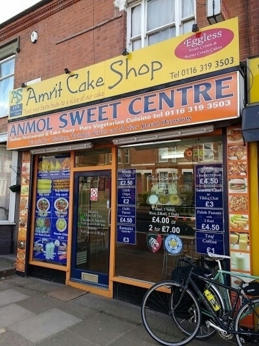 """Photo of Anmol Sweet Centre  by <a href=""""/members/profile/Meaks"""">Meaks</a> <br/>Anmol Sweet Centre <br/> July 31, 2016  - <a href='/contact/abuse/image/63613/163763'>Report</a>"""