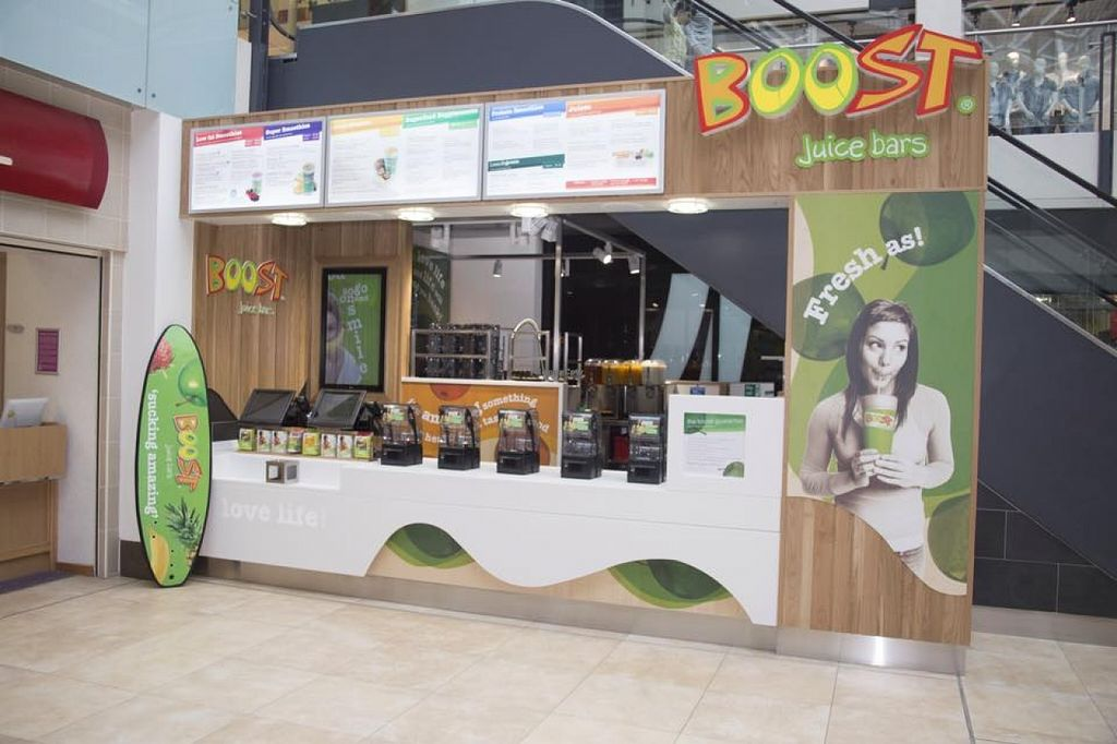 """Photo of Boost Juicebar  by <a href=""""/members/profile/community"""">community</a> <br/> Boost Juicebar <br/> October 2, 2015  - <a href='/contact/abuse/image/63615/119900'>Report</a>"""
