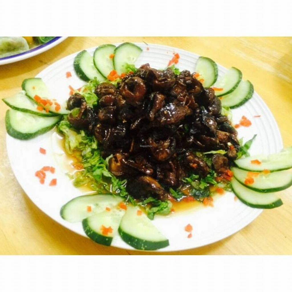 "Photo of Pisland Vegetarian Catering  by <a href=""/members/profile/community"">community</a> <br/>Mushroom Char Siew <br/> September 29, 2015  - <a href='/contact/abuse/image/63674/119586'>Report</a>"