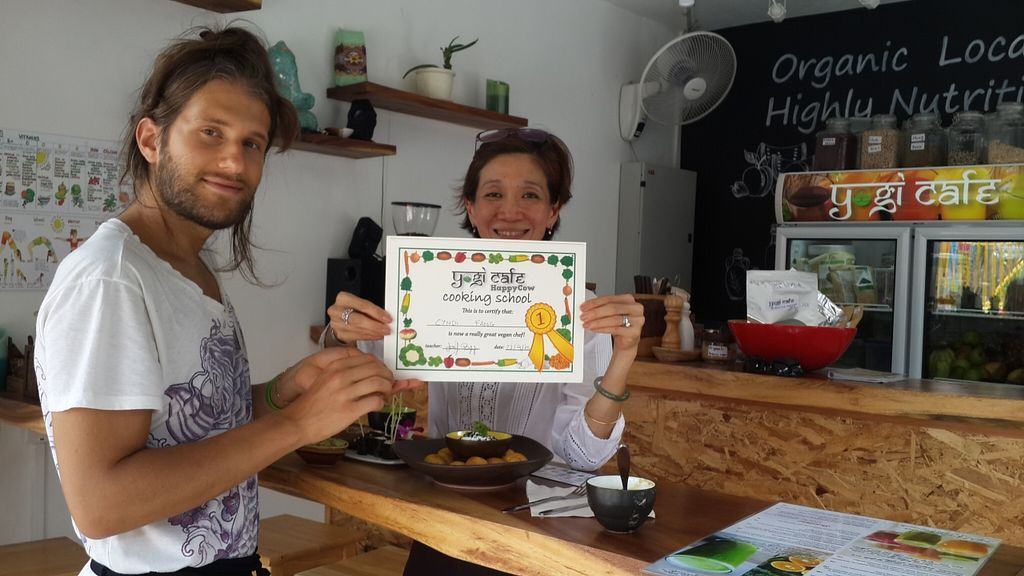 """Photo of Yogi Cafe  by <a href=""""/members/profile/yogi%20cafe"""">yogi cafe</a> <br/>raw food worksop in samui <br/> October 4, 2015  - <a href='/contact/abuse/image/63690/120139'>Report</a>"""