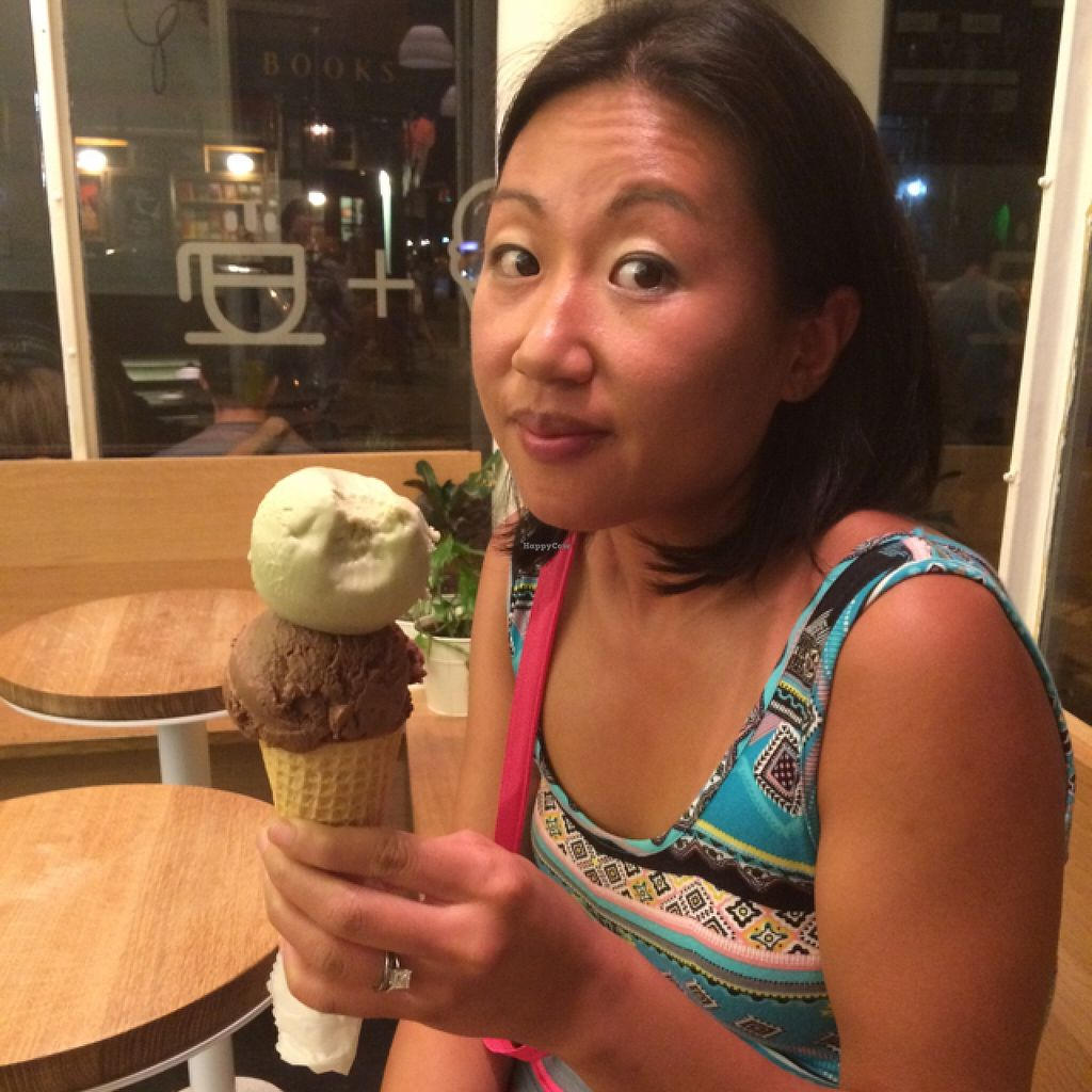 """Photo of Van Leeuwen Ice Cream - West Village  by <a href=""""/members/profile/slo0go"""">slo0go</a> <br/>two scoops! <br/> September 21, 2015  - <a href='/contact/abuse/image/63699/118661'>Report</a>"""