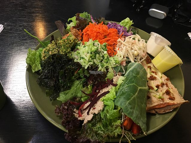 "Photo of A-Live & Healthy Cafe  by <a href=""/members/profile/Acevolt"">Acevolt</a> <br/>sampler plate, everything was excellent! <br/> September 1, 2016  - <a href='/contact/abuse/image/63705/172756'>Report</a>"