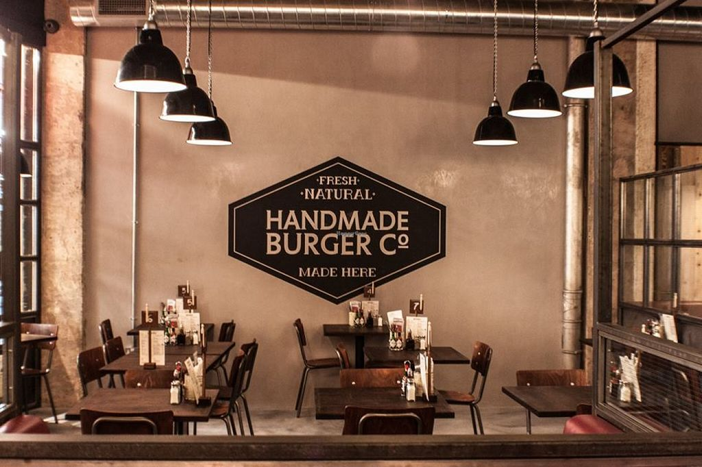 """Photo of Handmade Burger Company  by <a href=""""/members/profile/community"""">community</a> <br/>Inside Handmade Burger Company <br/> September 29, 2015  - <a href='/contact/abuse/image/63709/119587'>Report</a>"""