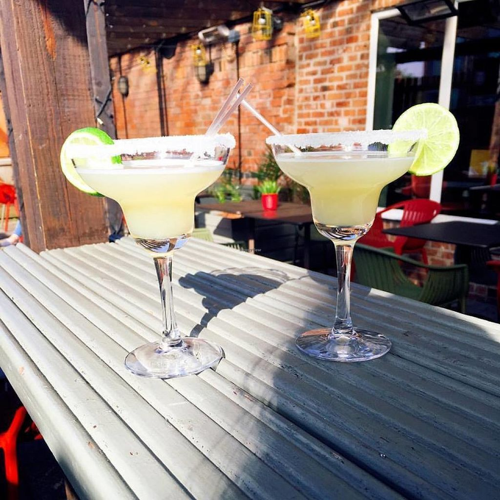 "Photo of Las Iguanas  by <a href=""/members/profile/Meaks"">Meaks</a> <br/>2-4-1 Margaritas on the piazza <br/> July 30, 2016  - <a href='/contact/abuse/image/63710/163625'>Report</a>"