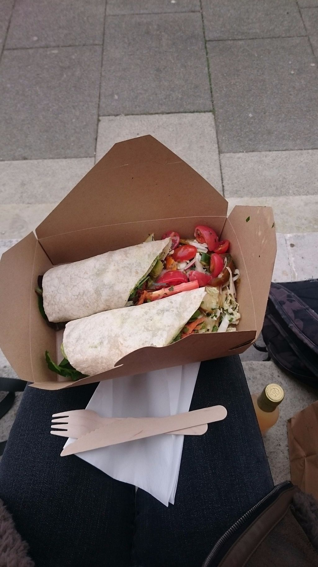 """Photo of The Wallflower Cafe  by <a href=""""/members/profile/lilyanja"""">lilyanja</a> <br/>Avocado and sweet potato wrap with cashew pesto <br/> March 4, 2017  - <a href='/contact/abuse/image/63719/232576'>Report</a>"""