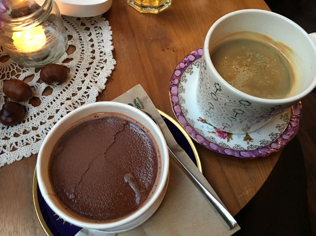 """Photo of Cafe Herzstück  by <a href=""""/members/profile/marky_mark"""">marky_mark</a> <br/>vegan chocolate ice cream & fine fair trade coffee <br/> October 23, 2015  - <a href='/contact/abuse/image/63730/122319'>Report</a>"""