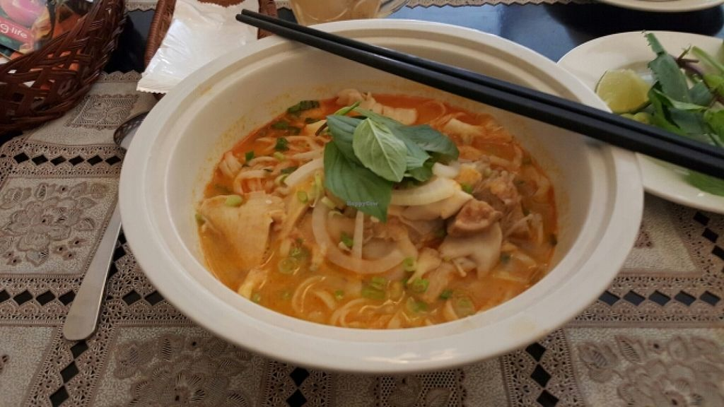"""Photo of Lau Nam Chay - An Nhien Ha  by <a href=""""/members/profile/Refinnej"""">Refinnej</a> <br/>pho nam sa te (spicy pho with mushrooms) <br/> December 27, 2015  - <a href='/contact/abuse/image/63764/130083'>Report</a>"""