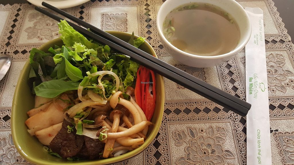 """Photo of Lau Nam Chay - An Nhien Ha  by <a href=""""/members/profile/Refinnej"""">Refinnej</a> <br/>pho tron (dry pho with the broth on the side) <br/> March 27, 2016  - <a href='/contact/abuse/image/63764/141463'>Report</a>"""