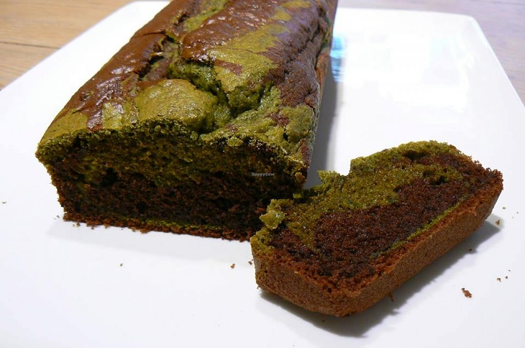 """Photo of Les Thes de Bernie  by <a href=""""/members/profile/community"""">community</a> <br/>chocolate and matcha loaf  <br/> September 30, 2015  - <a href='/contact/abuse/image/63794/119627'>Report</a>"""