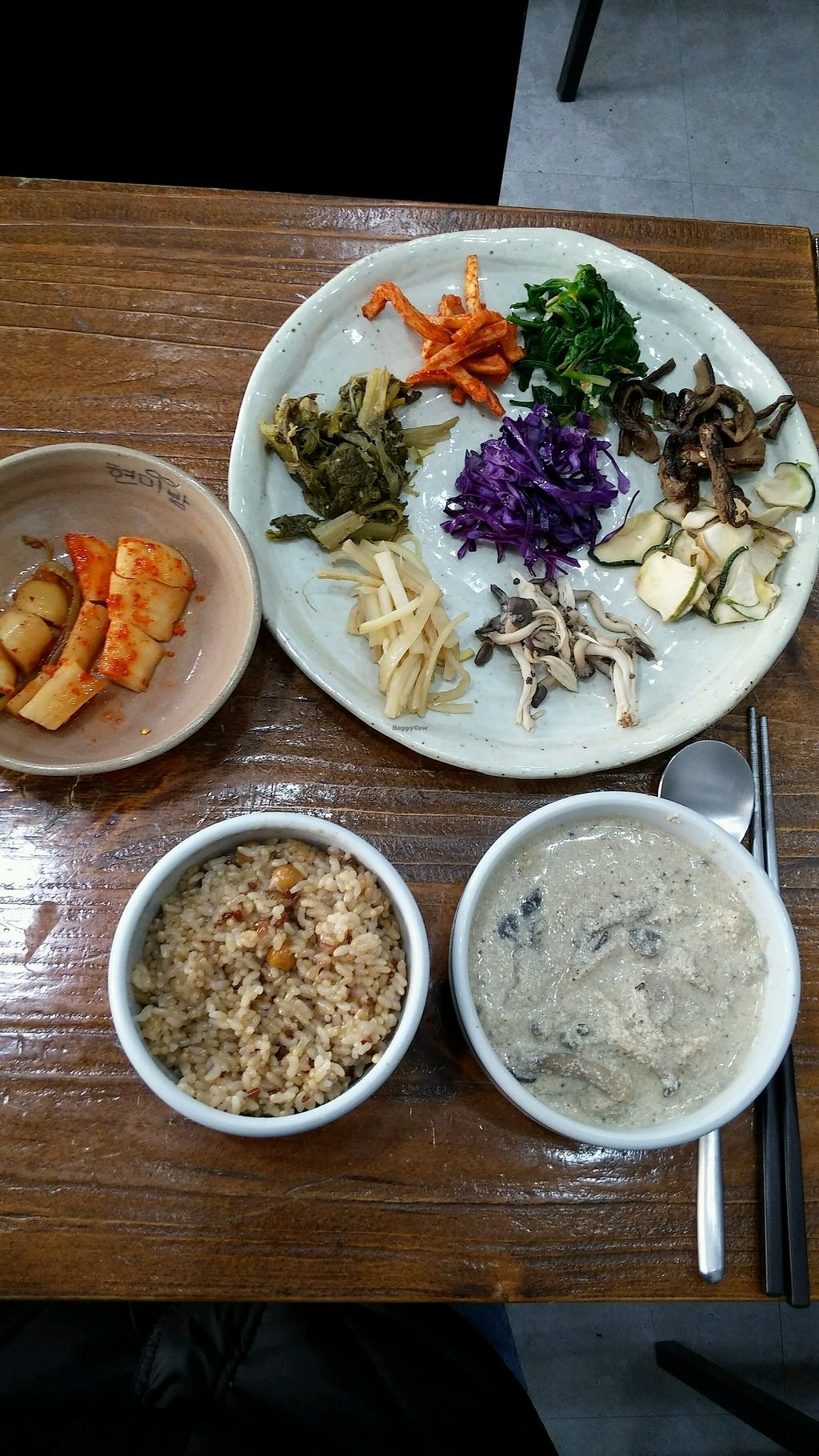 "Photo of Hyeonmibab - Brown Rice Cafe - 현미밥 Café  by <a href=""/members/profile/JYRoh"">JYRoh</a> <br/>brownrice with namul <br/> January 6, 2018  - <a href='/contact/abuse/image/63828/343516'>Report</a>"