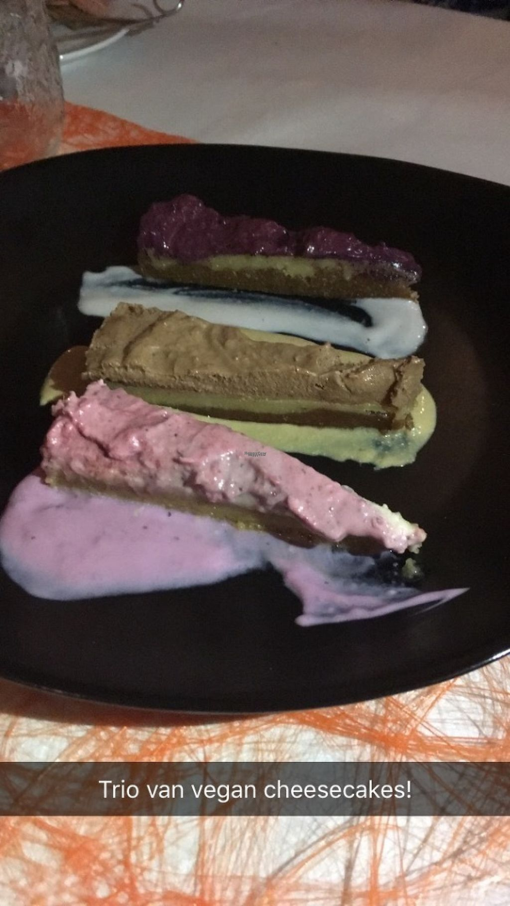 """Photo of CLOSED: Sprouts  by <a href=""""/members/profile/aertskato"""">aertskato</a> <br/>Trio of cheesecakes at Sprouts <br/> April 14, 2017  - <a href='/contact/abuse/image/63862/247927'>Report</a>"""