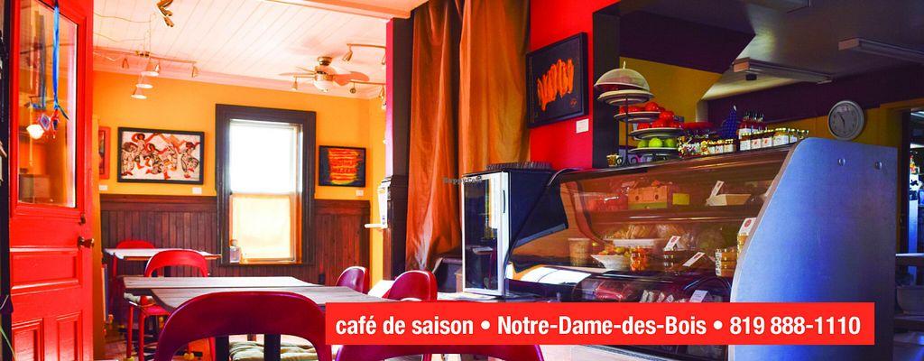 """Photo of BistroEphemere  by <a href=""""/members/profile/TahnieParent"""">TahnieParent</a> <br/>Bistro Éphémère, café de saison, Notre-Dame-des-Bois <br/> July 31, 2016  - <a href='/contact/abuse/image/63873/163811'>Report</a>"""