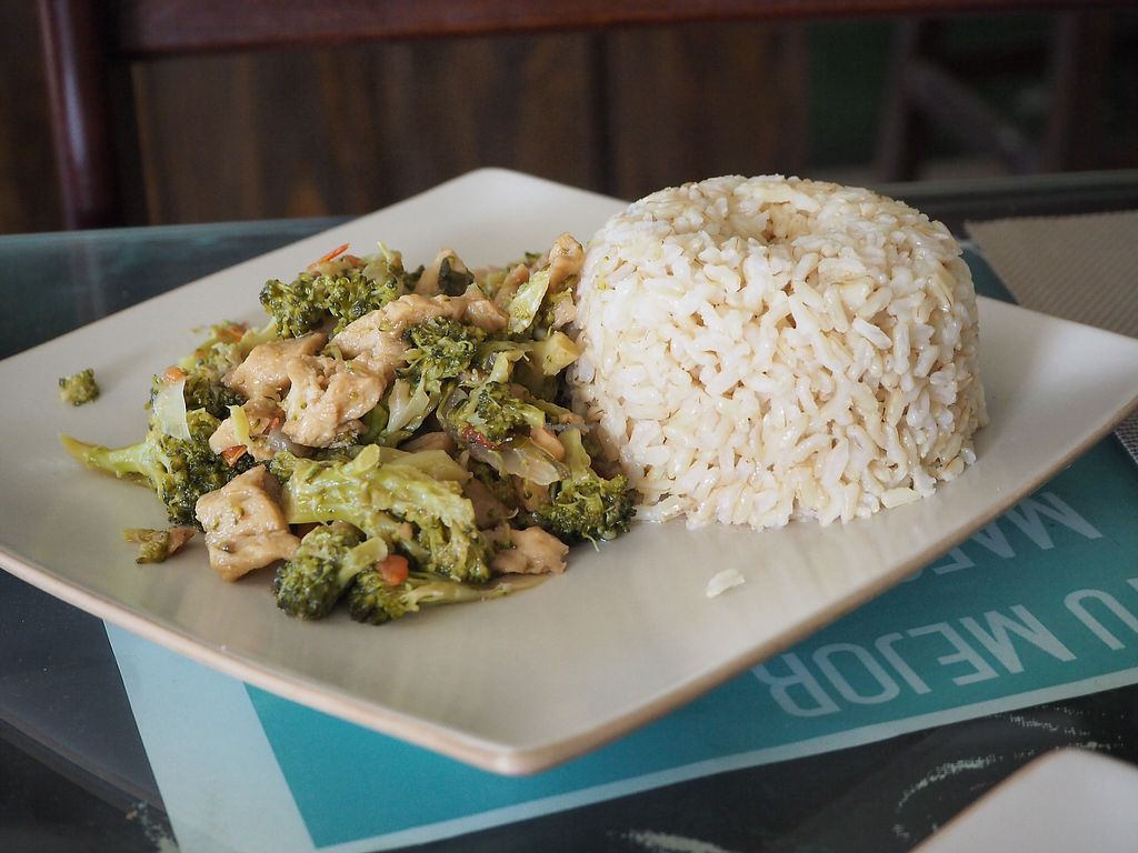 "Photo of Muya Musquy  by <a href=""/members/profile/tryngl"">tryngl</a> <br/>main course with sauted broccoli <br/> October 29, 2017  - <a href='/contact/abuse/image/63908/319988'>Report</a>"