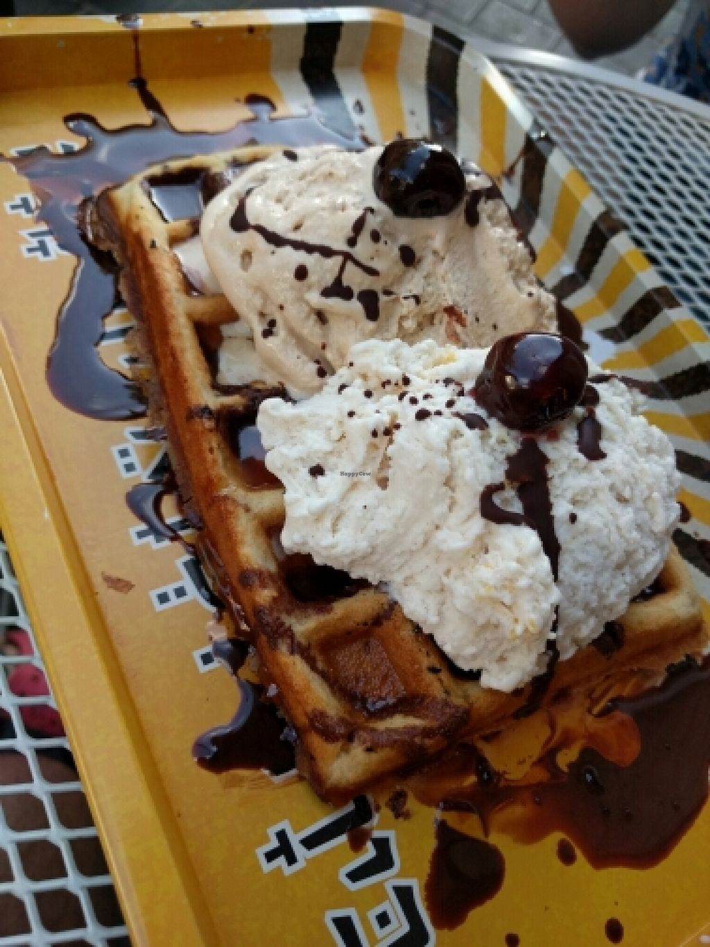 "Photo of CLOSED: Gala Gelateria  by <a href=""/members/profile/faincut"">faincut</a> <br/>Vegan waffle <br/> June 9, 2016  - <a href='/contact/abuse/image/63947/153141'>Report</a>"