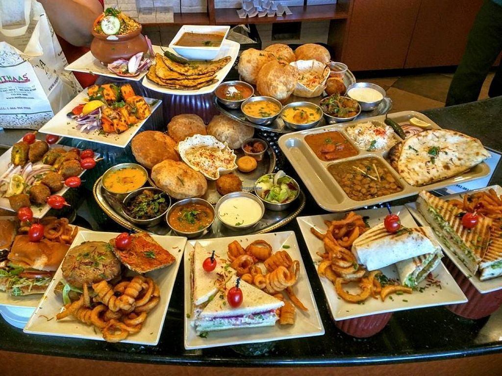"""Photo of Mithaas  by <a href=""""/members/profile/community"""">community</a> <br/>vegetarian buffet  <br/> October 6, 2015  - <a href='/contact/abuse/image/63970/120511'>Report</a>"""