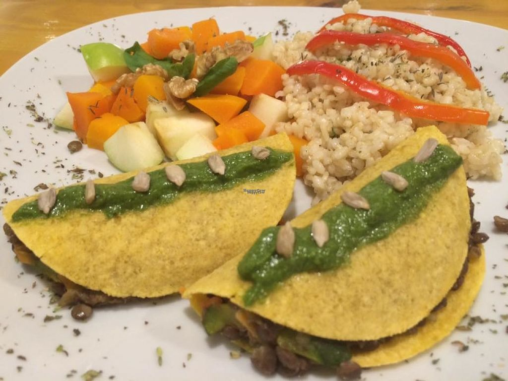 "Photo of RasLok  by <a href=""/members/profile/madjennsy"">madjennsy</a> <br/>Vegan Tacos filled with Lentils and vegetables.
