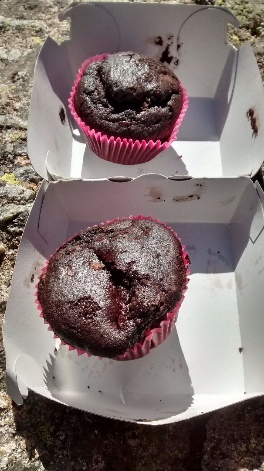 """Photo of CLOSED: Rocky Road Burgers  by <a href=""""/members/profile/JonJon"""">JonJon</a> <br/>Chocolate-cherry muffins <br/> August 8, 2016  - <a href='/contact/abuse/image/63980/166907'>Report</a>"""