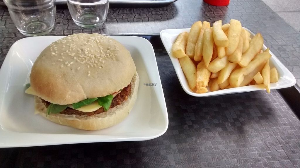 """Photo of CLOSED: Rocky Road Burgers  by <a href=""""/members/profile/JonJon"""">JonJon</a> <br/>Burger """"Say Cheese"""" and fries <br/> August 8, 2016  - <a href='/contact/abuse/image/63980/166909'>Report</a>"""