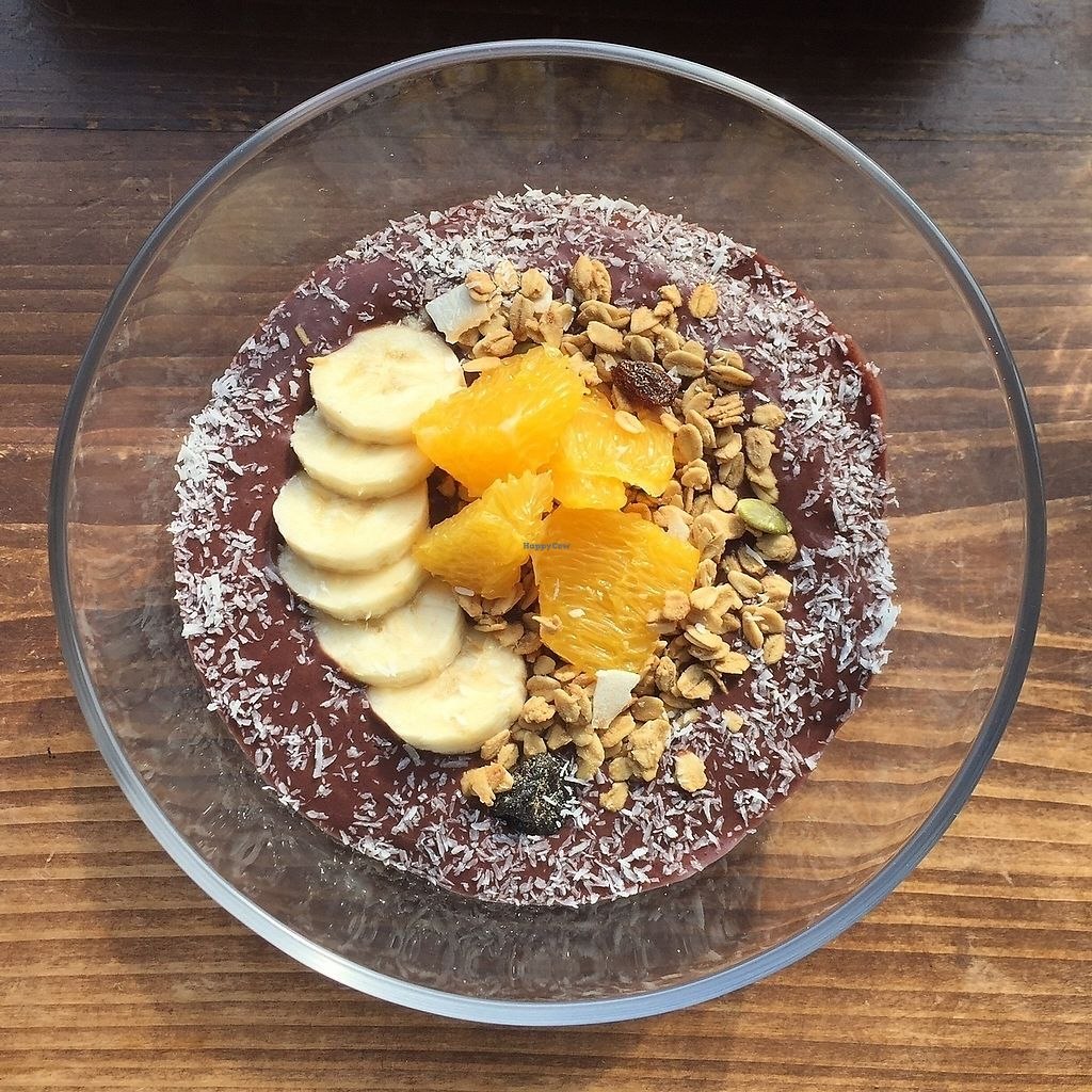 "Photo of Veg Out  by <a href=""/members/profile/giruja"">giruja</a> <br/>Açaí bowl. So yummy <br/> March 20, 2018  - <a href='/contact/abuse/image/63991/373274'>Report</a>"