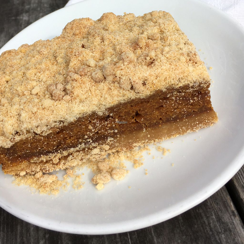 """Photo of Valhalla Bakery - Market on South  by <a href=""""/members/profile/KWdaddio"""">KWdaddio</a> <br/>pumpkin pie bar <br/> December 30, 2016  - <a href='/contact/abuse/image/64002/206265'>Report</a>"""