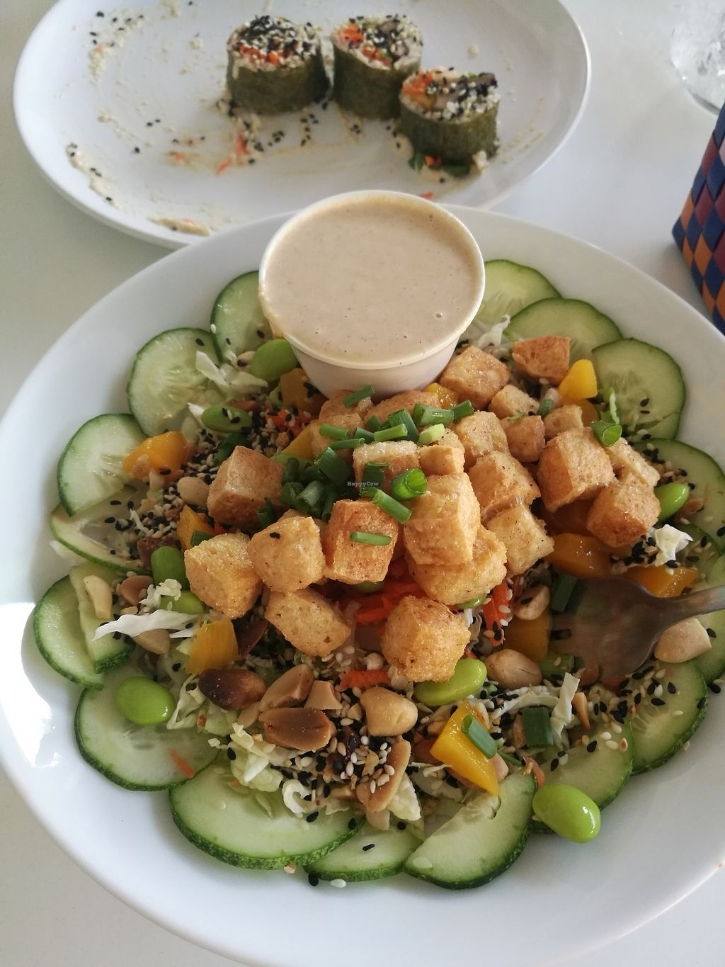 """Photo of VegetaBowl  by <a href=""""/members/profile/Lyssi"""">Lyssi</a> <br/>Napa salad 150b <br/> February 26, 2018  - <a href='/contact/abuse/image/64003/364134'>Report</a>"""