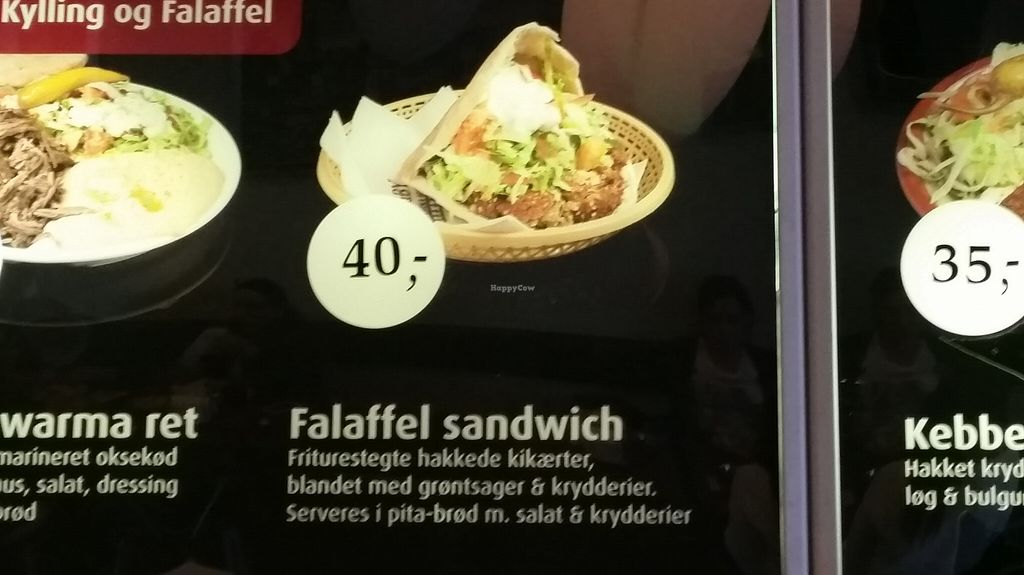 """Photo of Lyngby Shawarma House  by <a href=""""/members/profile/konlish"""">konlish</a> <br/>Falafel sandwich  <br/> September 29, 2015  - <a href='/contact/abuse/image/64005/119549'>Report</a>"""
