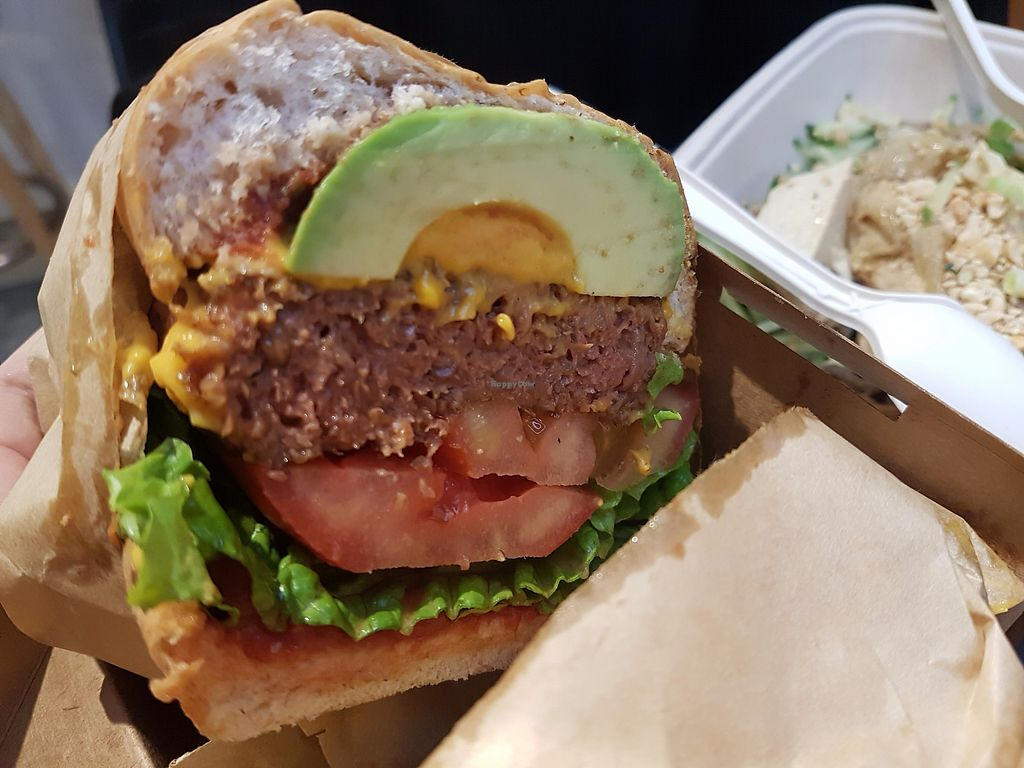 """Photo of CLOSED: Green Common - Nan Fung Place  by <a href=""""/members/profile/LiQi"""">LiQi</a> <br/>Beyond burger! <br/> November 28, 2017  - <a href='/contact/abuse/image/64019/330083'>Report</a>"""