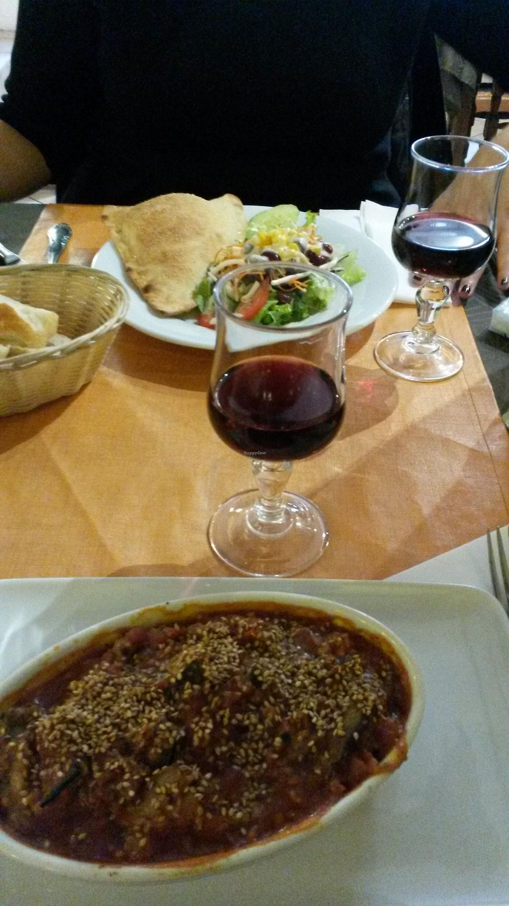 """Photo of Au Potiron  by <a href=""""/members/profile/Marine%20Phoenix"""">Marine Phoenix</a> <br/>Gratin vegan (aubergines, proteines de soja...) top!  <br/> October 2, 2015  - <a href='/contact/abuse/image/6401/119807'>Report</a>"""