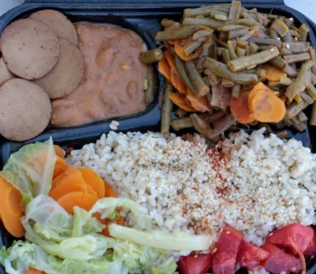 """Photo of Food.Harmony  by <a href=""""/members/profile/community"""">community</a> <br/>vegetarian bento  <br/> October 17, 2015  - <a href='/contact/abuse/image/64026/236144'>Report</a>"""