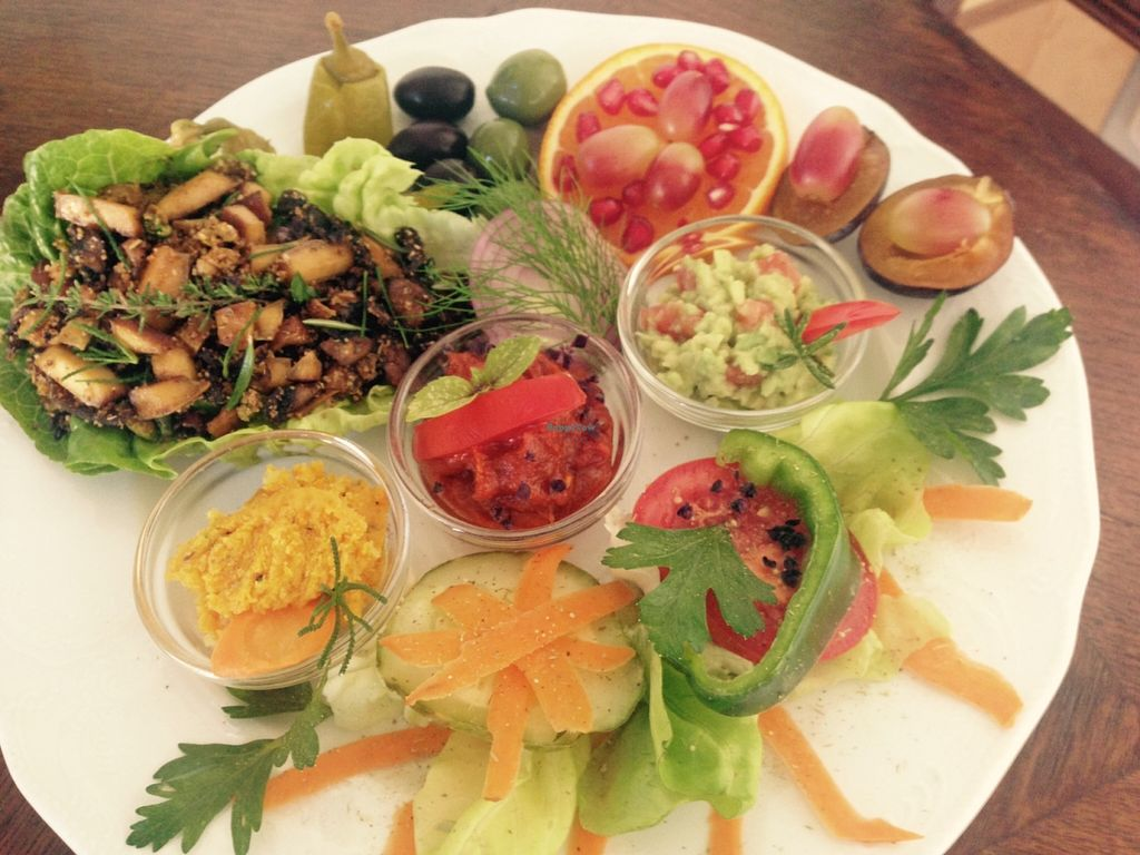 Photo of Gruenes Herz  by KerstinReichl <br/>vegan breakfast <br/> October 29, 2015  - <a href='/contact/abuse/image/64028/123105'>Report</a>