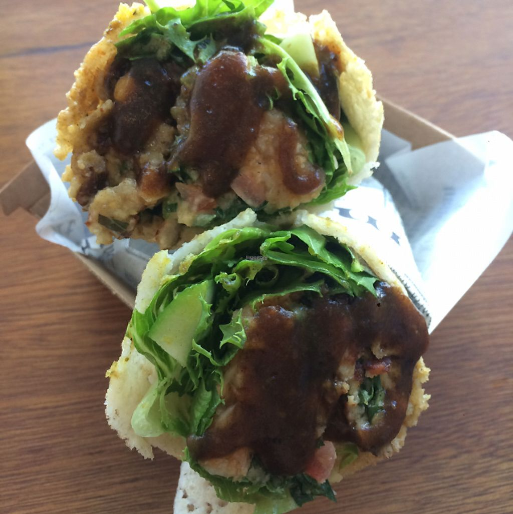"""Photo of Nalini's  by <a href=""""/members/profile/Carla.Rowe23"""">Carla.Rowe23</a> <br/>Falafel wrap  <br/> February 14, 2017  - <a href='/contact/abuse/image/64041/226551'>Report</a>"""