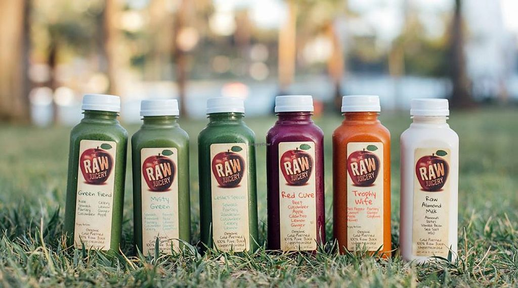 """Photo of The Raw Juicery  by <a href=""""/members/profile/community"""">community</a> <br/>fresh pressed juices  <br/> October 12, 2015  - <a href='/contact/abuse/image/64049/121167'>Report</a>"""