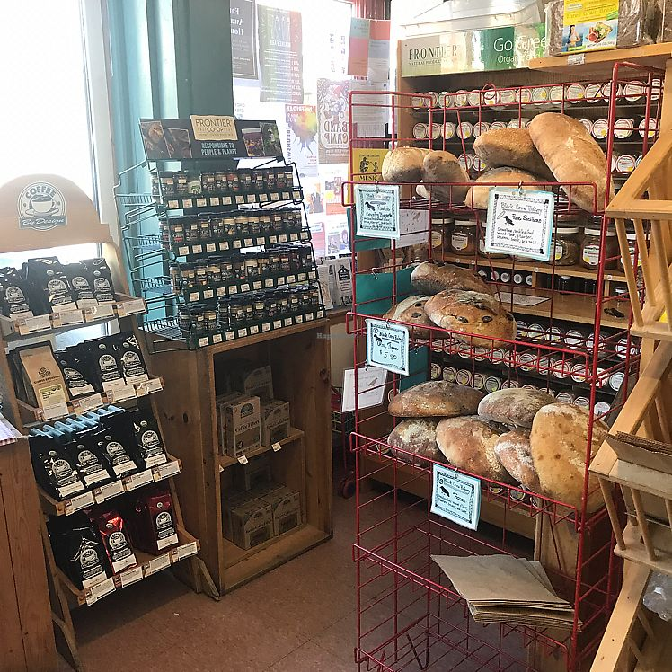 "Photo of Bath Natural Market  by <a href=""/members/profile/Sarah%20P"">Sarah P</a> <br/>local vegan breads <br/> June 10, 2017  - <a href='/contact/abuse/image/6404/267855'>Report</a>"