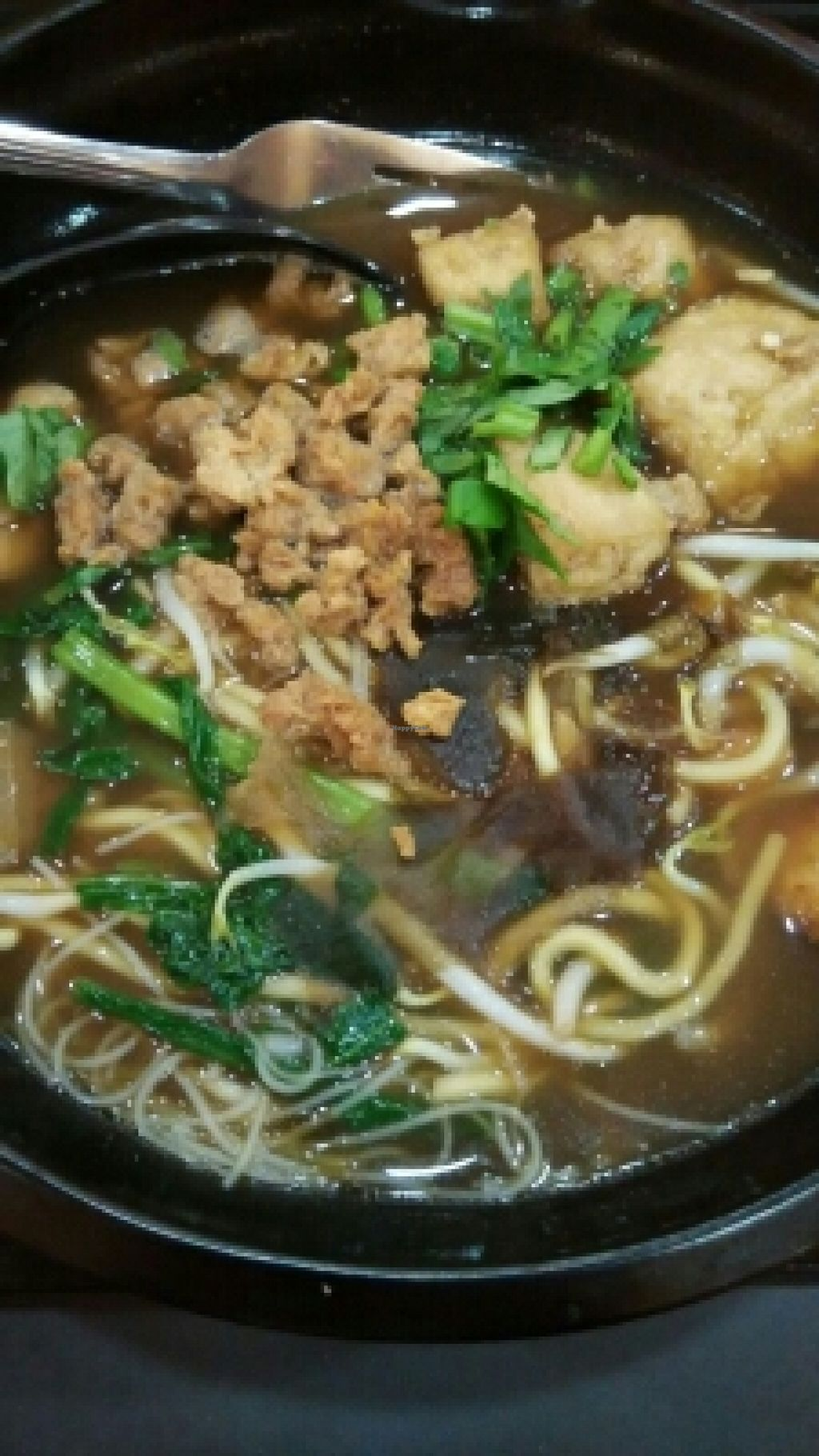"""Photo of CLOSED: vGreen  by <a href=""""/members/profile/JimmySeah"""">JimmySeah</a> <br/>prawn noodle without mock prawn <br/> March 23, 2016  - <a href='/contact/abuse/image/64081/141102'>Report</a>"""