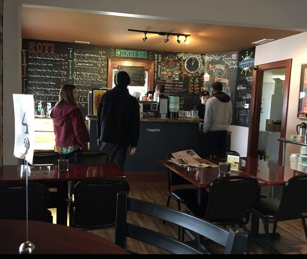"""Photo of The Hub Roti Cafe  by <a href=""""/members/profile/Laine88"""">Laine88</a> <br/>Great customer service!  <br/> January 21, 2017  - <a href='/contact/abuse/image/64091/214161'>Report</a>"""