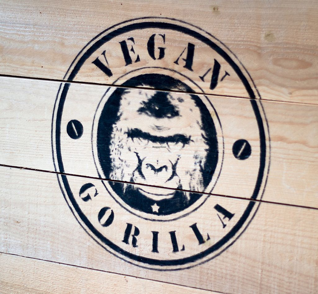 """Photo of Vegan Gorilla  by <a href=""""/members/profile/loloford"""">loloford</a> <br/>logo <br/> June 2, 2017  - <a href='/contact/abuse/image/64096/265167'>Report</a>"""