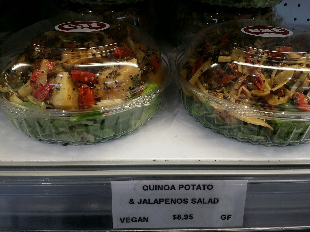 """Photo of CLOSED: Eat  by <a href=""""/members/profile/ericacrombie"""">ericacrombie</a> <br/>Quinoa potato and jelapenos salad <br/> October 14, 2017  - <a href='/contact/abuse/image/64101/315238'>Report</a>"""