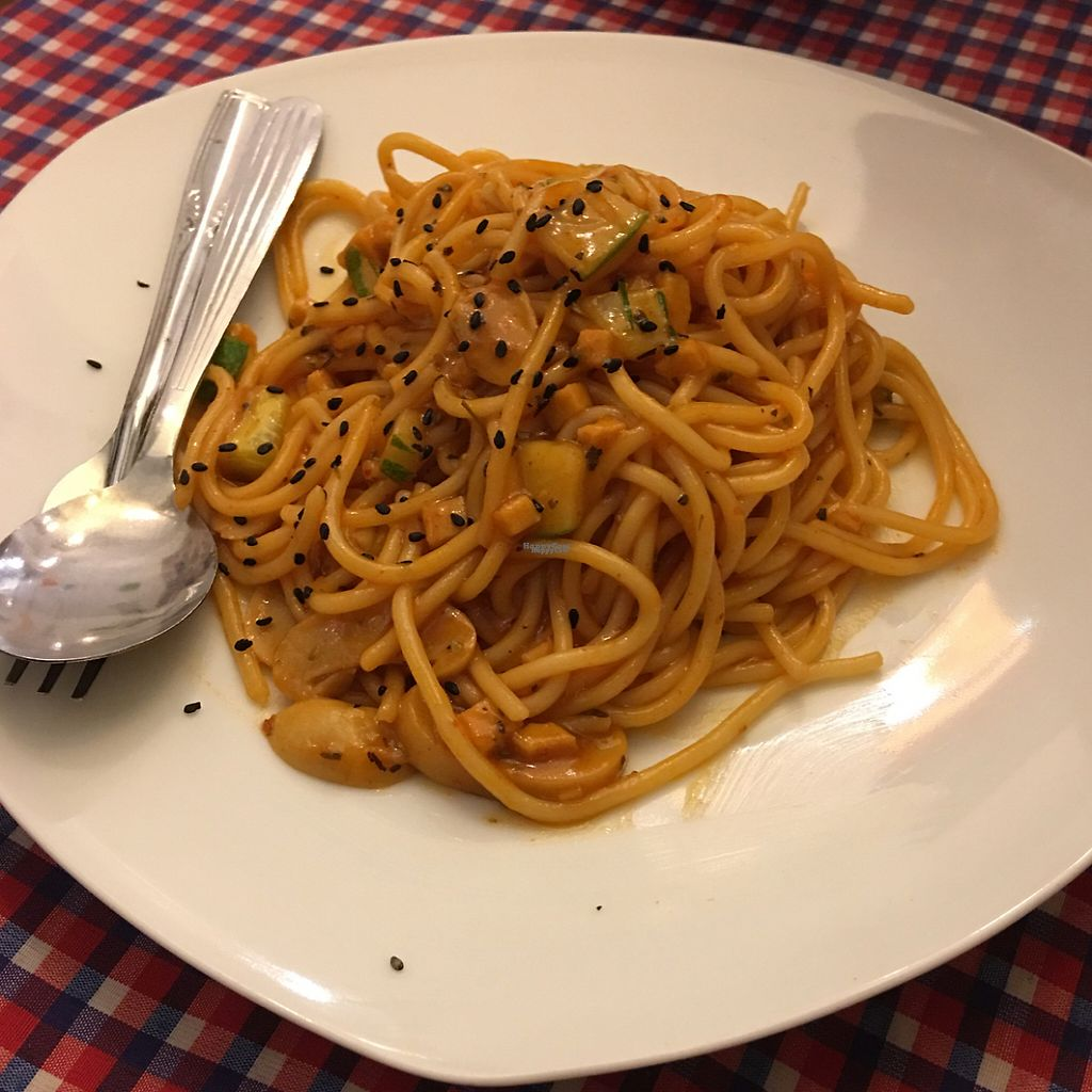 """Photo of Book Cafe  by <a href=""""/members/profile/Vegeson"""">Vegeson</a> <br/>bolognese spaghetti  <br/> January 18, 2017  - <a href='/contact/abuse/image/64126/213027'>Report</a>"""