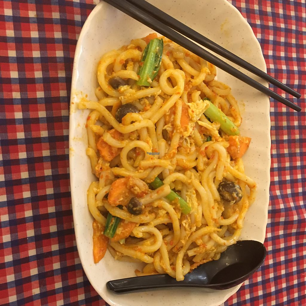 """Photo of Book Cafe  by <a href=""""/members/profile/BryanHu"""">BryanHu</a> <br/>dry fried udon <br/> March 29, 2017  - <a href='/contact/abuse/image/64126/242318'>Report</a>"""