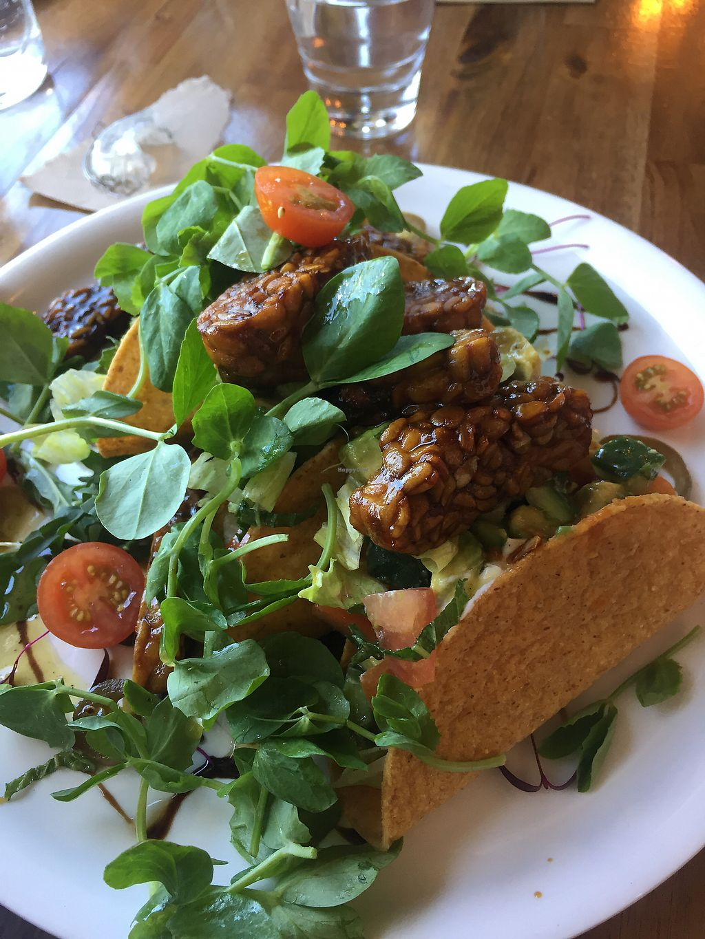 """Photo of V Series  by <a href=""""/members/profile/jessbaik"""">jessbaik</a> <br/>Vegan tempeh tacos <br/> January 1, 2018  - <a href='/contact/abuse/image/64133/341814'>Report</a>"""