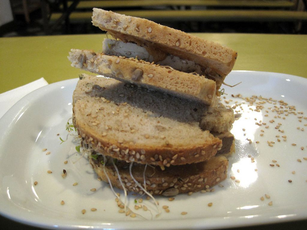 """Photo of CLOSED: Ink FarmFood Cafe  by <a href=""""/members/profile/Babette"""">Babette</a> <br/>This sandwich had tofu, alfalfa sprouts and peanut butter <br/> December 29, 2016  - <a href='/contact/abuse/image/64135/205837'>Report</a>"""