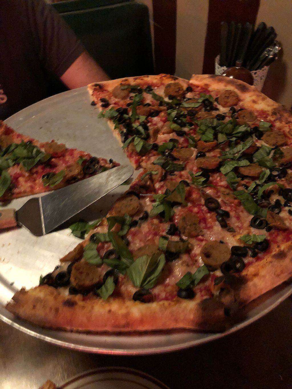 "Photo of Gladstone Pizza   by <a href=""/members/profile/MollyElwood"">MollyElwood</a> <br/>Field Roast awesomeness  <br/> April 7, 2018  - <a href='/contact/abuse/image/64152/381763'>Report</a>"