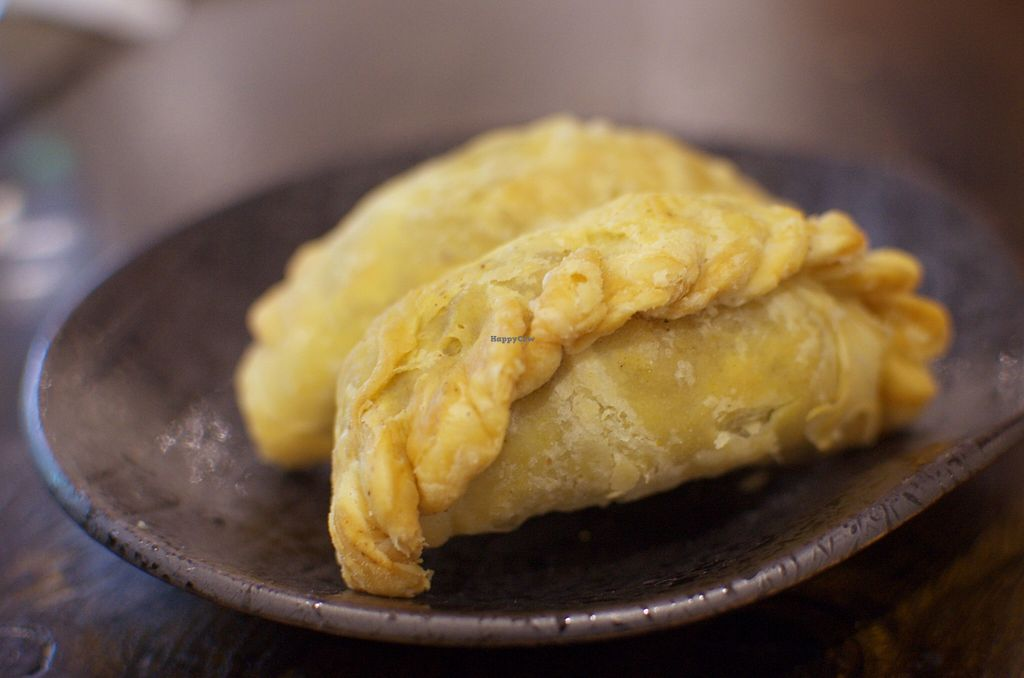 """Photo of Vegeme  by <a href=""""/members/profile/chocoholicPhilosophe"""">chocoholicPhilosophe</a> <br/>Curry puffs  (there should be 3 but someone pinched one before I could take a photo) <br/> December 29, 2015  - <a href='/contact/abuse/image/64155/130199'>Report</a>"""