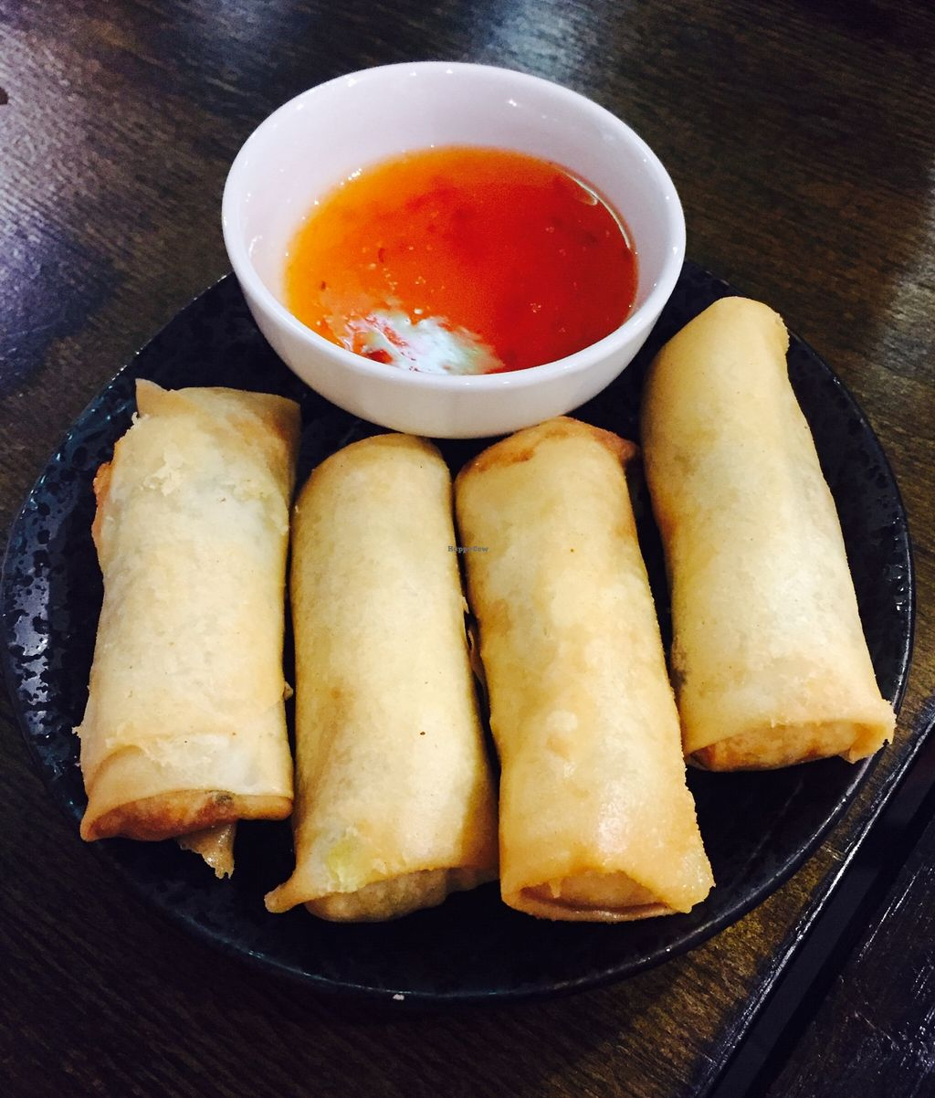"""Photo of Vegeme  by <a href=""""/members/profile/karlaess"""">karlaess</a> <br/>Spring rolls <br/> May 14, 2016  - <a href='/contact/abuse/image/64155/148926'>Report</a>"""