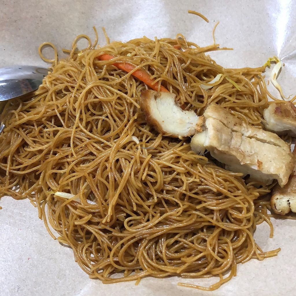 """Photo of Su Yuan Xuan Vegetarian Stall  by <a href=""""/members/profile/CherylQuincy"""">CherylQuincy</a> <br/>$1.70 beehoon and mock meat <br/> March 29, 2018  - <a href='/contact/abuse/image/64158/377614'>Report</a>"""