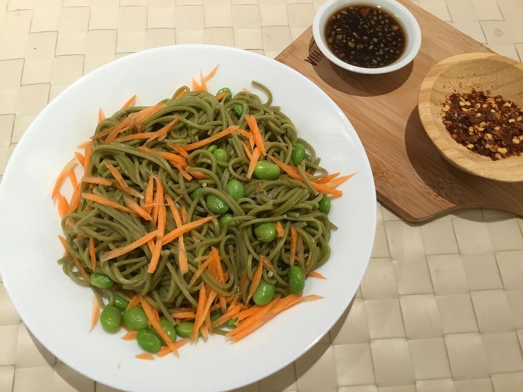 """Photo of Peace Cafe  by <a href=""""/members/profile/CherylQuincy"""">CherylQuincy</a> <br/>Soba noodles (Photo from Facebook page) <br/> March 17, 2018  - <a href='/contact/abuse/image/64160/371700'>Report</a>"""